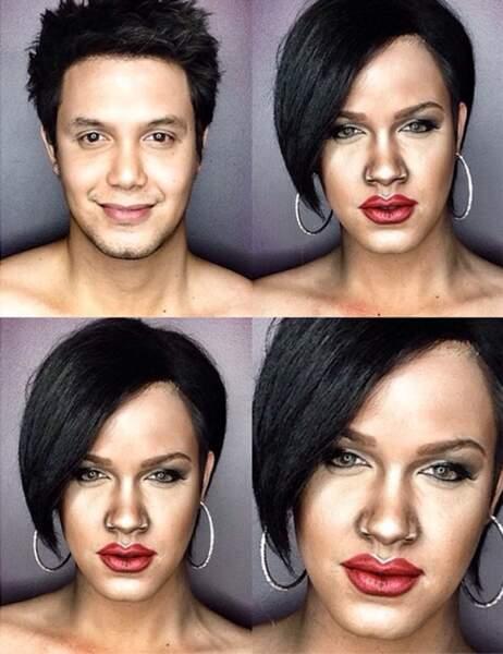 Paolo Ballesteros en Rihanna
