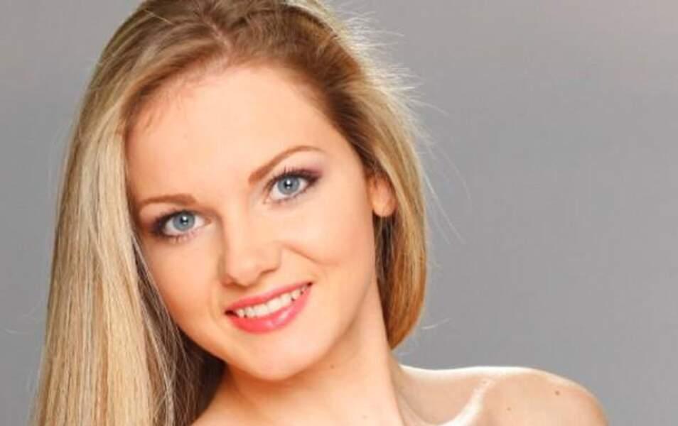 Miss Bulgarie Nansi Karaboycheva, 20 ans, 1m72