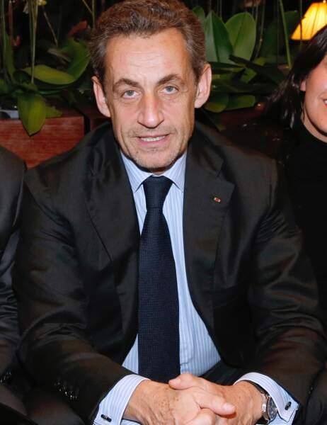 15- Nicolas Sarkozy gagne cinq places depuis cet été