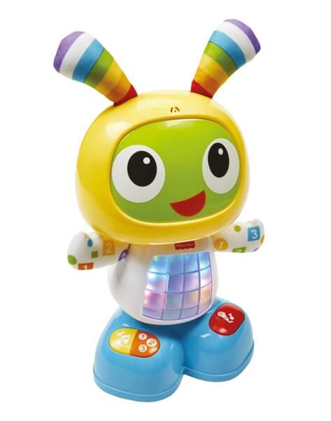 Bebo le robot. Dès 9 mois, 49,99 € en GMS et dans les magasins spécialisés