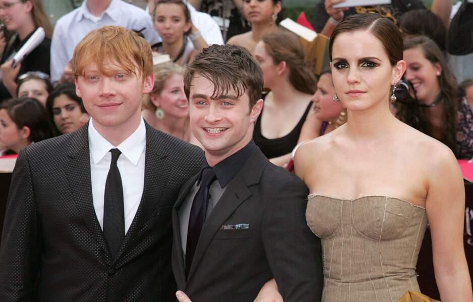 Emma Watson, Daniel Radcliffe et Rupert Grint aujourd'hui