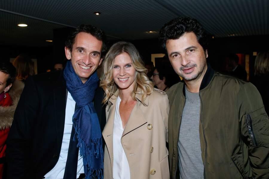 Avant-première du film Chacun sa vie : Alexandre Bompard, Sarah Lelouch et David Marouani