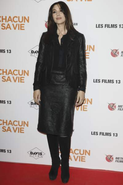 Avant-première du film Chacun sa vie : Monica Bellucci