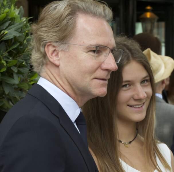 Olivier Royant et sa fille