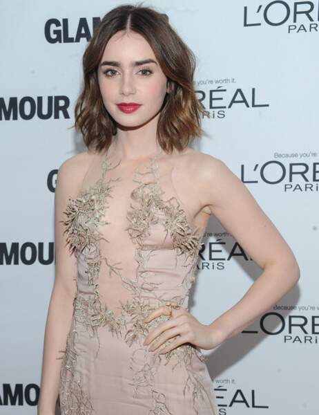 Lily Collins aujourd'hui.