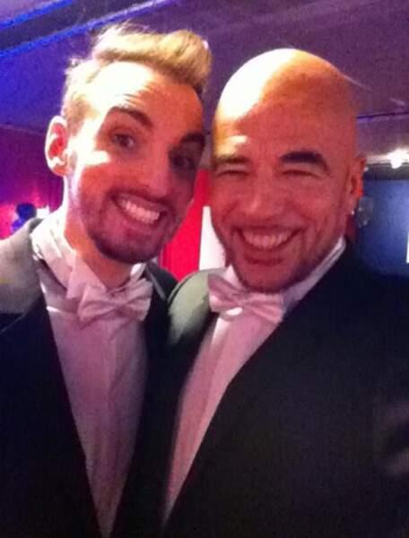 Christophe Willem et Pascal Obispo