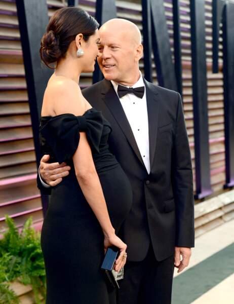 Bruce Willis et sa femme <3