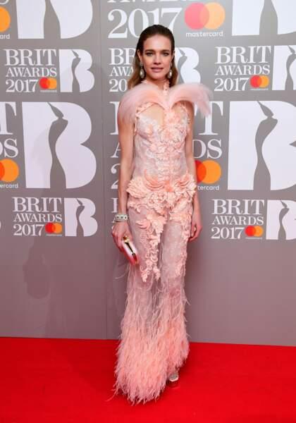 Brit Awards 2017 : Natalia Vodianova