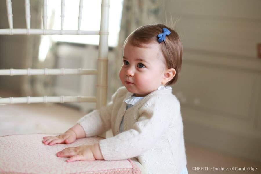 Photo officielle du premier anniversaire de Charlotte