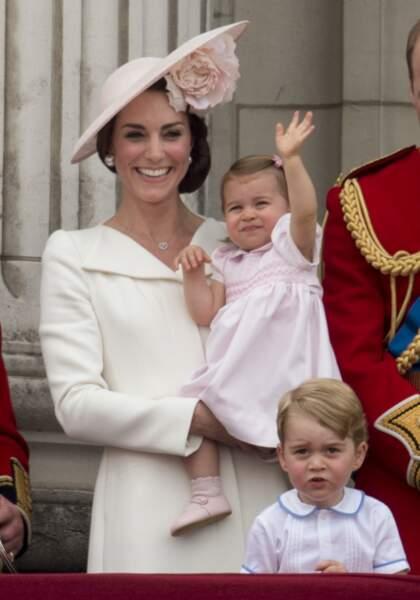 La princesse Charlotte, le 11 juin 2016