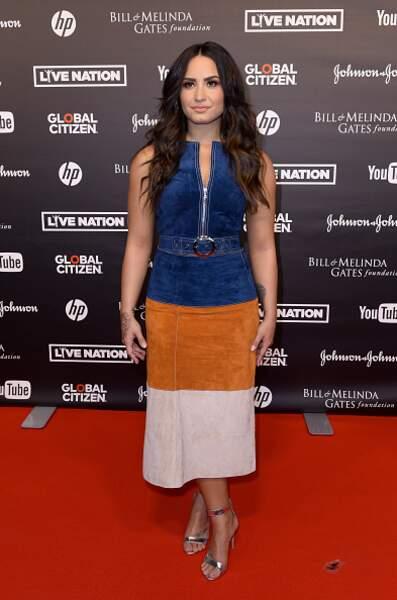 Don't : Demi Lovato dans une robe un trop casual pour une avant première