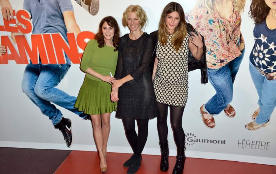 Mélanie Bernier, Sandrine Kiberlain et Elisa Sednaoui