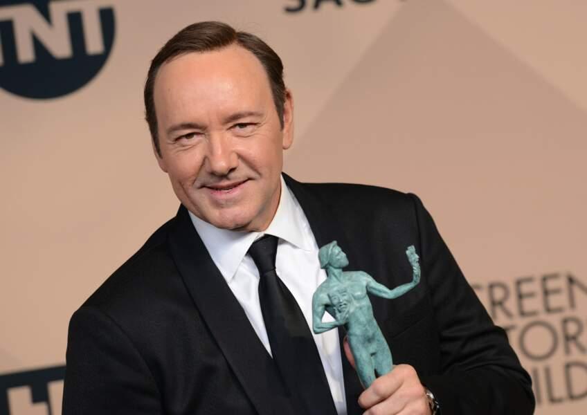 Meilleur acteur dans une série dramatique : Kevin Spacey (House of Cards)