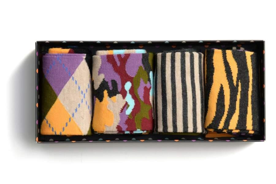Coffret Chaussettes Happy Socks : 30€