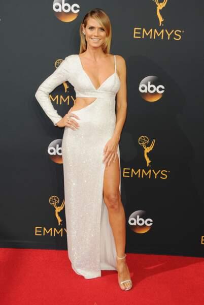Emmy Awards 2016 : Heidi Klum en Michael Kors