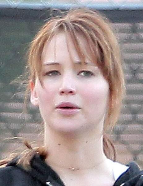 Jennifer Lawrence fait du sport