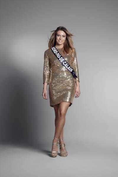 Miss Nord-Pas-de-Calais : Laurine Maricau – 22 ans