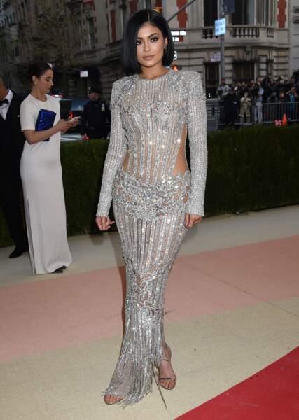 Kylie Jenner en Balmain