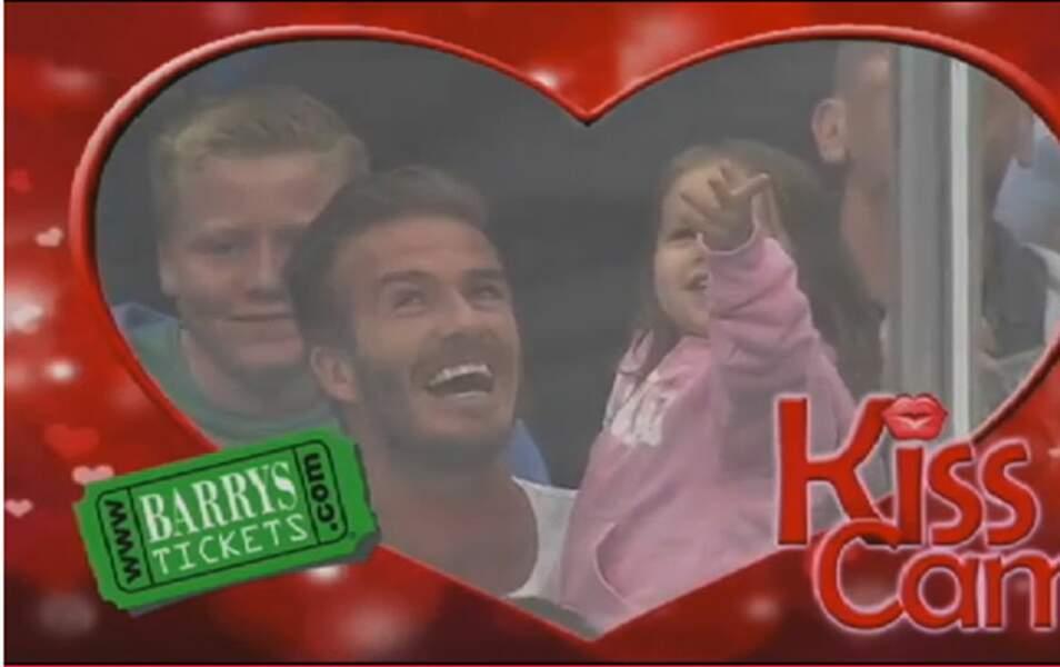 David et Harper Beckham