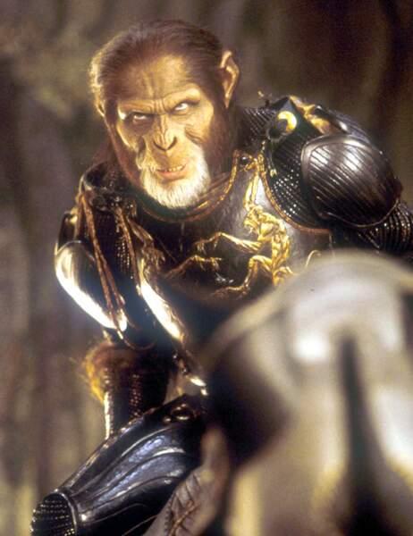 """Thade dans """"La planète des singes"""" (2001) est..."""