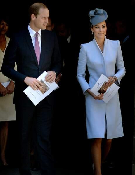 Le couple royal a chanté tous les chants