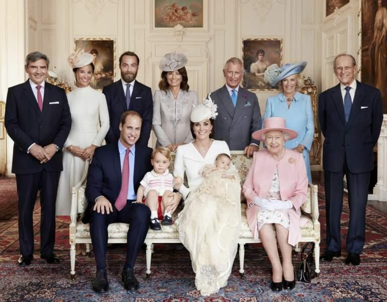 ... sans oublier le reste de la royal family !