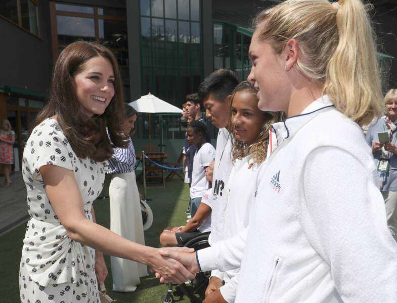 Avant la finale, Kate Middleton et Meghan Markle ont rencontré des jeunes joueuses