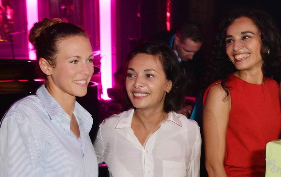 Lorie, Saïda Jawad et Aïda Touihri