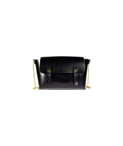 Sac modèle Etude, coloris noir, Craie, 150 euros