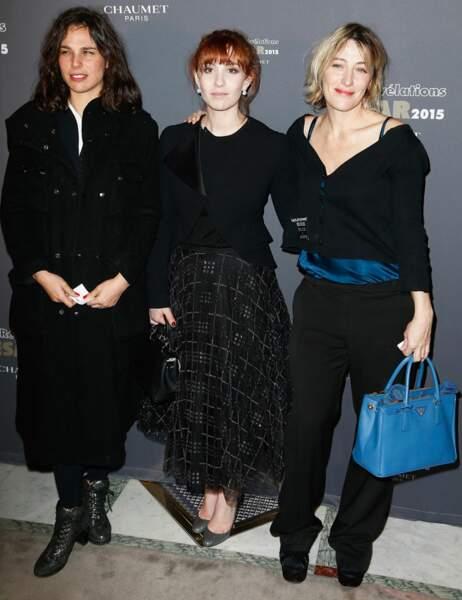 Sophie Letourneur, Lolita Chammah et Valeria Bruni-Tedeschi