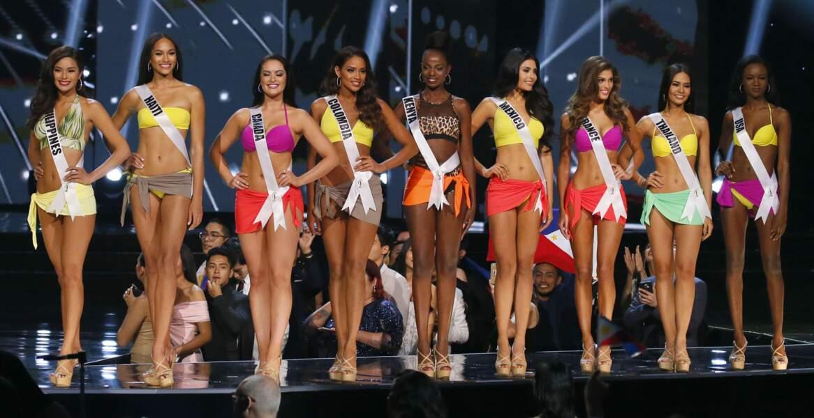 Iris Mittenaere élue Miss Univers : toutes les photos du défilé en bikini au sacre