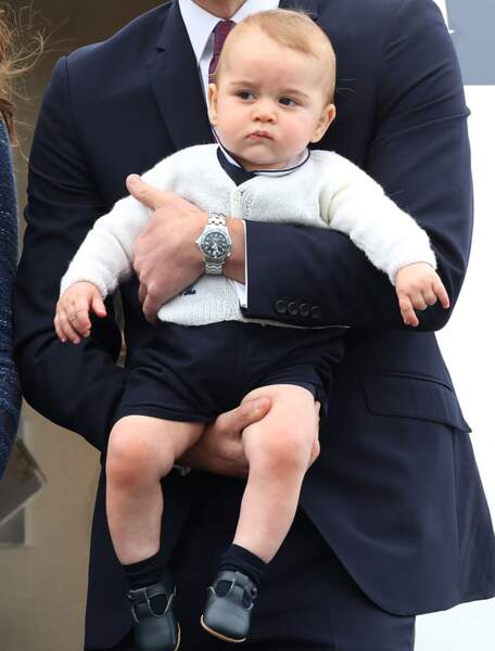 Ensuite, George est parti pour l'Australie