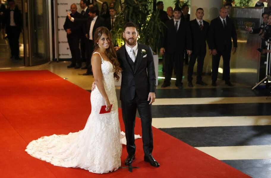Lionel Messi et Antonella Rocuzzo