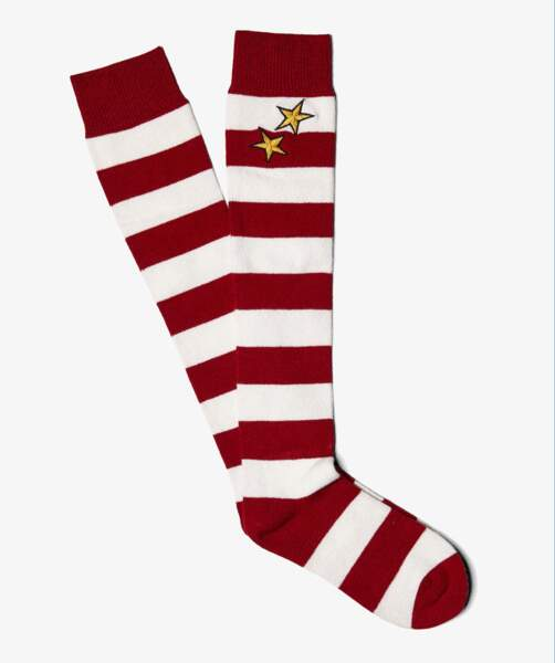 Chaussettes Fred Perry : 30€