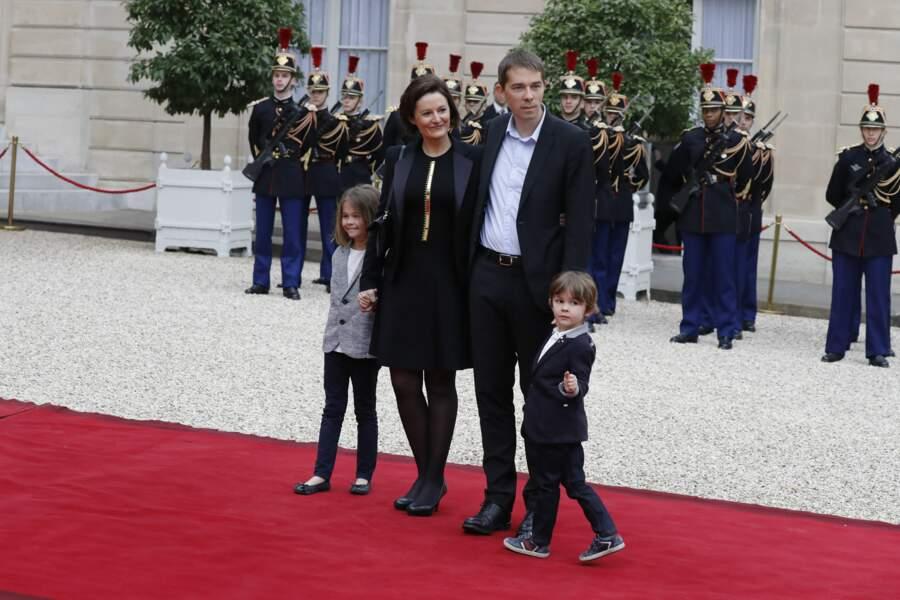 Sébastien Auzière est lui aussi venu en famille