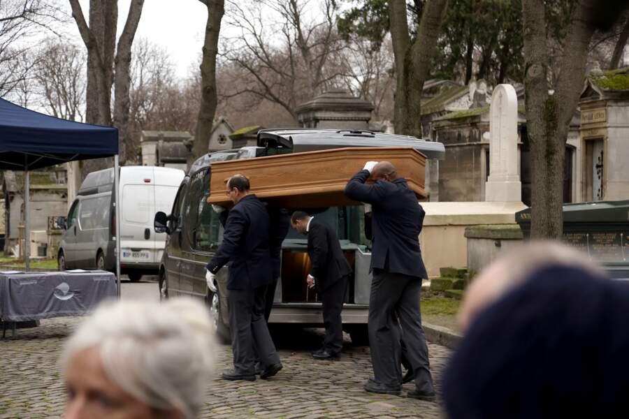 Obsèques du réalisateur Jacques Rivette