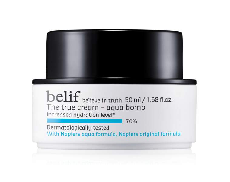 Poids plume. The True Cream Aqua Bomb, 35 €, Belief chez Sephora