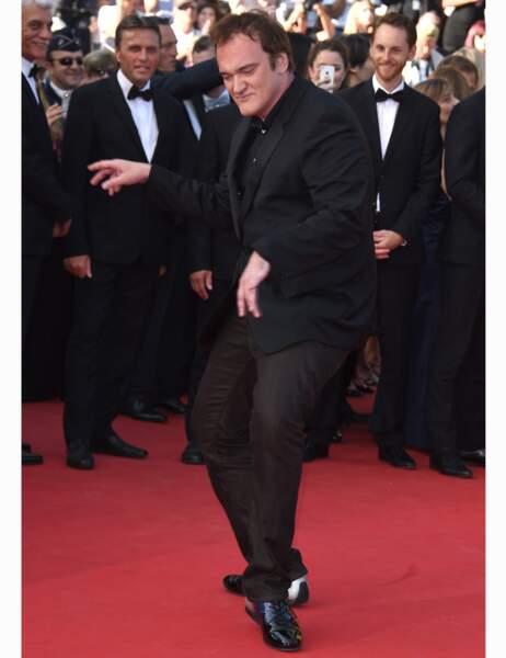 Evidemment, Quentin Tarantino assure l'animation