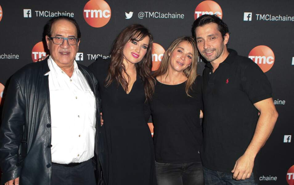 Jean-Luc Azoulay, Elsa Esnoult, Hélène Rolles and Sébastien Roch