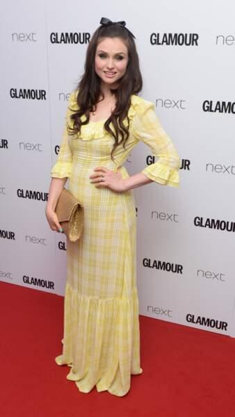 Sophie Ellis- Bextor aux Glamour Awards