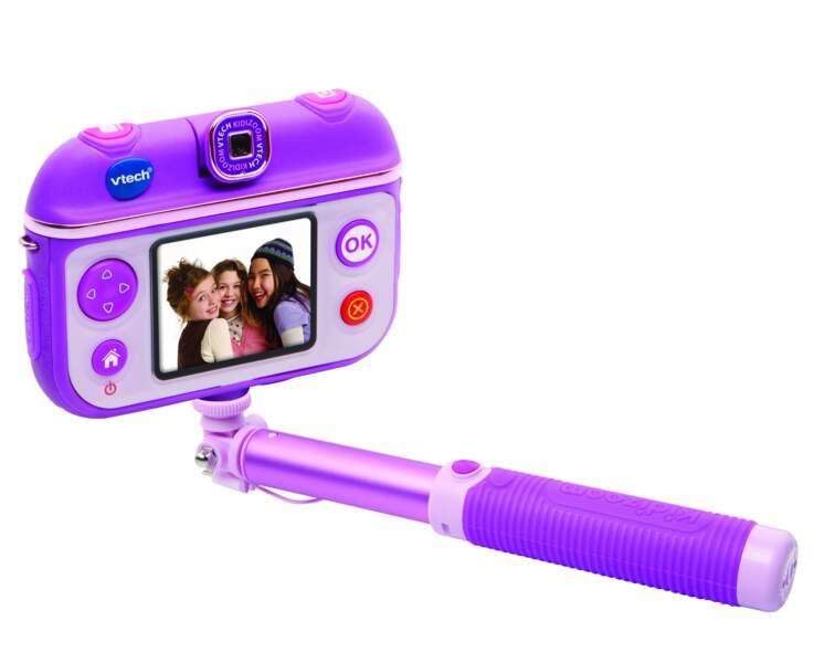 Perche à Selfie. Kidizoom, environ 60€, Vtech.