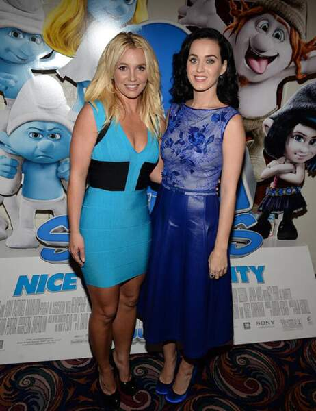 Britney Spears et Katy Perry
