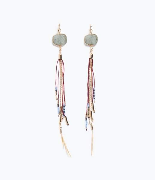 Boucles d'oreilles Zara - 12,95 €