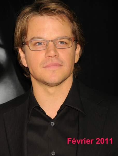 Matt Damon en février 2011