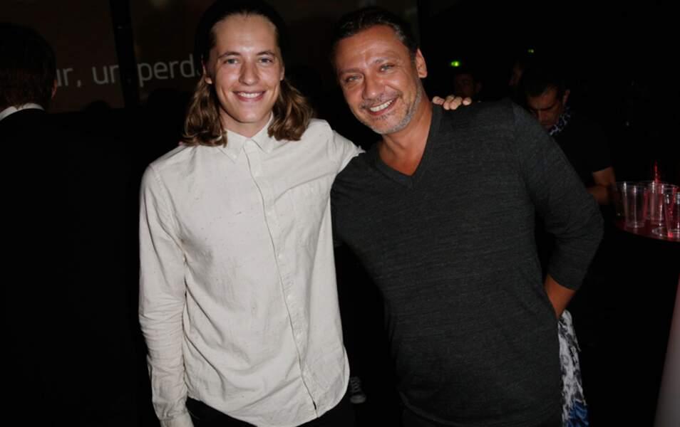 Puis Pierre Sarkozy était avec Valery Zeitoun