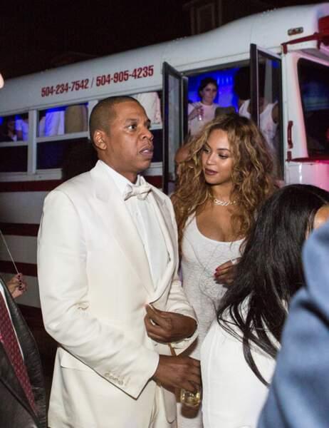 Jay-Z se donnerait-il du courage avant de croiser Solange ?