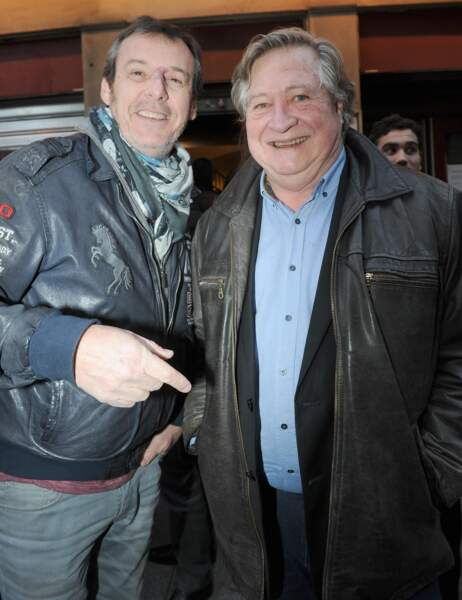 Jean-Luc Reichmann et Jacques Pradel