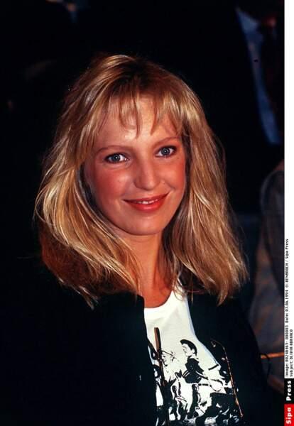 Olivia Adriaco dans les années 90