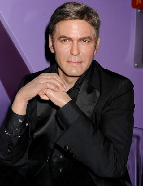 George Clooney au Madame Tussauds d'Hollywood