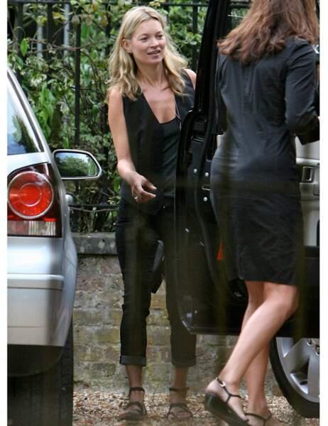 Kate Moss au naturel